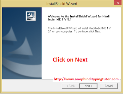 Unicode Hindi Typing Software Setup Install - Anop Hindi Typing Tutor