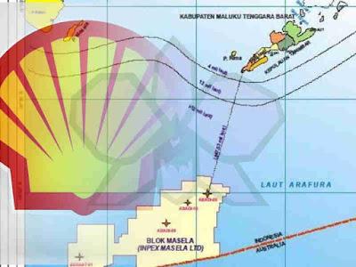 Shell Bantah Jual 35 Persen Saham, Fokus POD Blok Masela Bersama Inpex