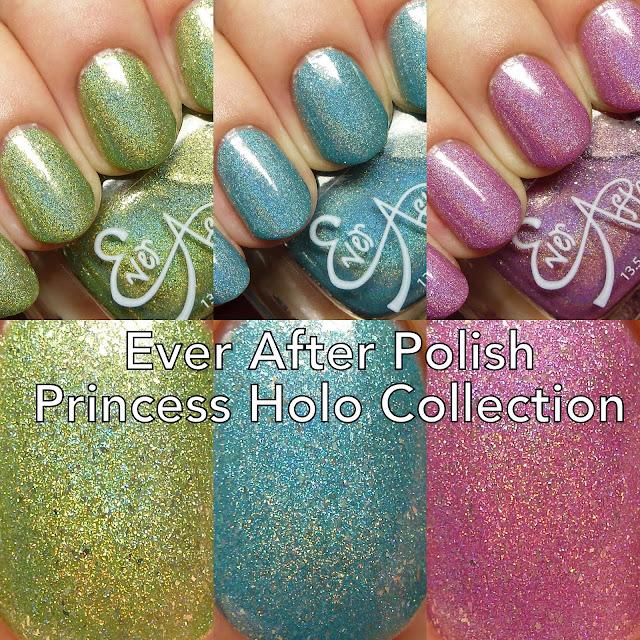 Ever After Polish Princess Holo Collection