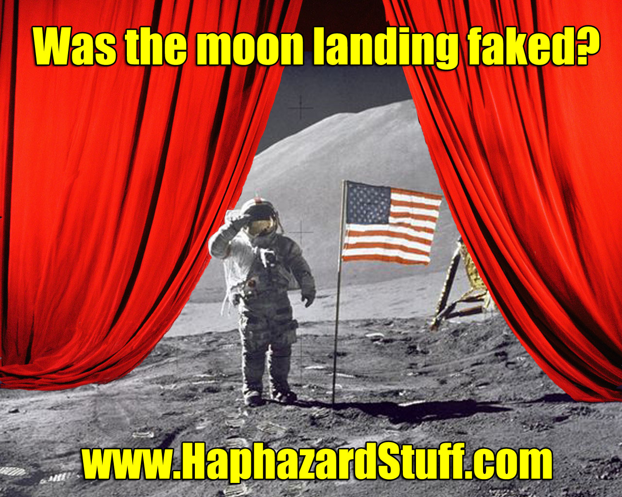 The Moon Landing - FAKED???