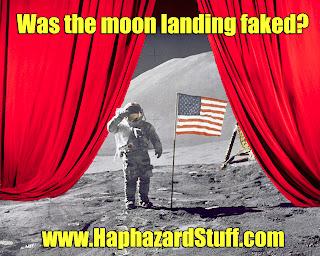 Moon landing fake conspiracy evidence