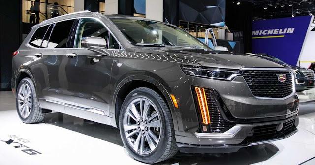 2021 cadillac xt6 suv interior and engine  sport car 2020