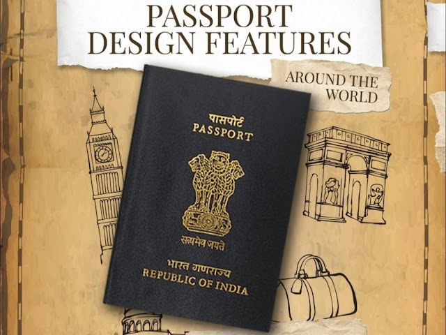 PASSPORT DESIGN FEATURES  AROUND THE WORLD