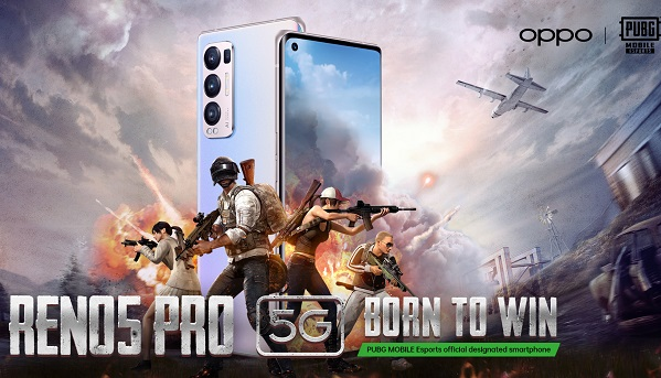 OPPO Reno5 Pro 5G - PUBG MOBILE Middle East and Africa Esports 2021