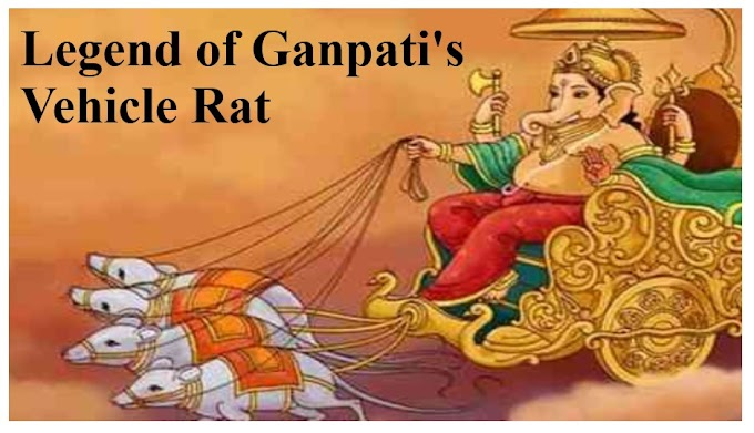 Legend of Ganpati's Vehicle Rat - Job In india