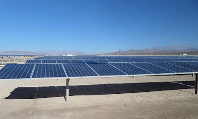 Solar energy in Chile.