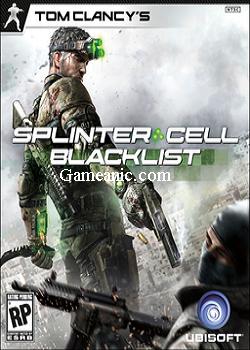 Tom Clancy's Splinter Cell Blacklist Game cover