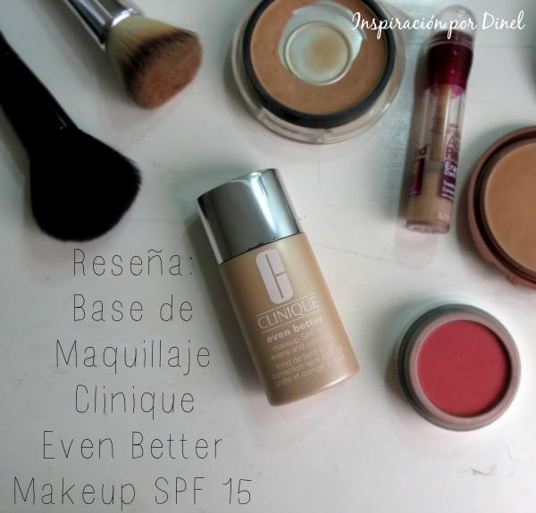 Clinique Even Better Makeup SPF 15 review