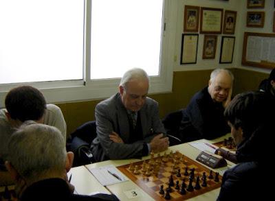 Los ajedrecistas Jaume Anguera y Joaquim Travesset