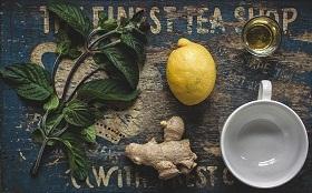 الشاي الاخضر والزنجبيل للتخسيس