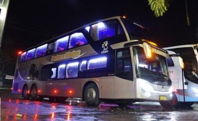 PO. Putera Mulya - Bus Scania Double Decker