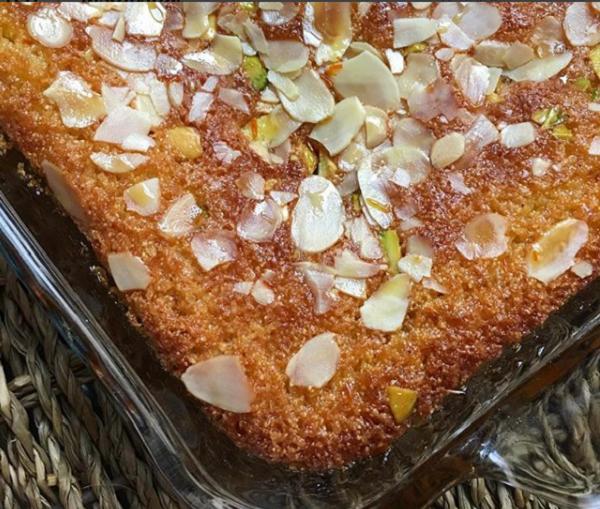 بالصور طريقة عمل: كيكة البسبوسة وكيكة البرتقال وكيكة الفطائر