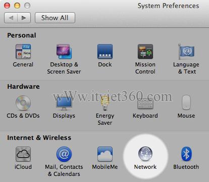 Làm thế nào thay đổi cài đặt DNS máy MAC OS của bạn?