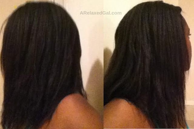 Wash Day: 1 Week Post 4/19 Relaxer Touch Up | A Relaxed Gal