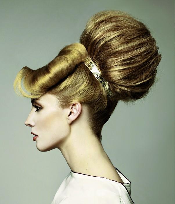 Super dulce peinados altos Galeria De Cortes De Cabello Estilo - La moda en tu cabello: Peinados de moda con moños altos ...