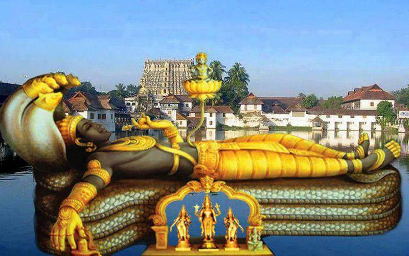 Padmanabhaswamy Temple Wikipedia Hindi