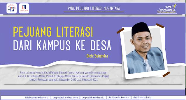 Pejuang Literasi dari Kampus ke Desa