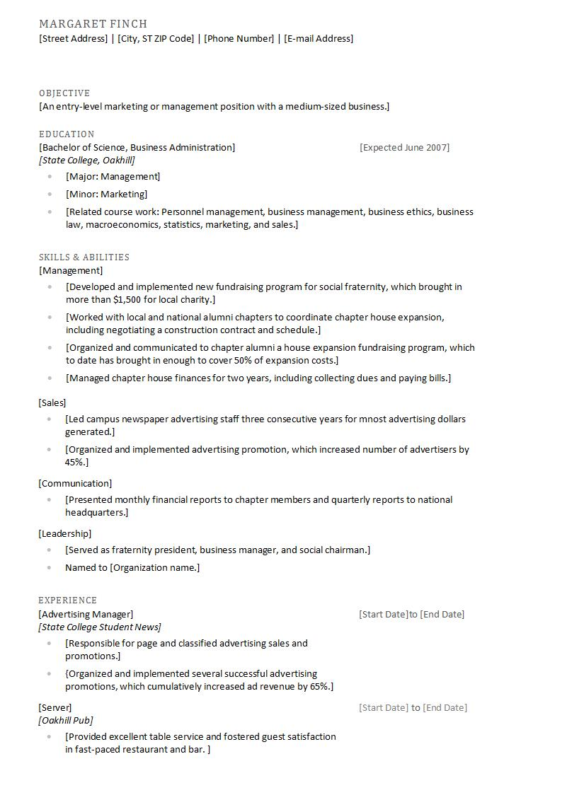 Cover letter and resume copy chiropractic