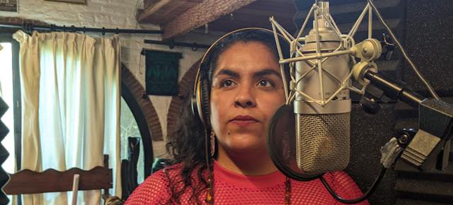 """La cantante mexicana Susana Molina, conocida por su nombre artístico como """"Obeja Negra""""Foto: Luis Arroyo/CINU Mexico"""