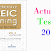 Listening Comprehensive TOEIC Training - Actual Test 20