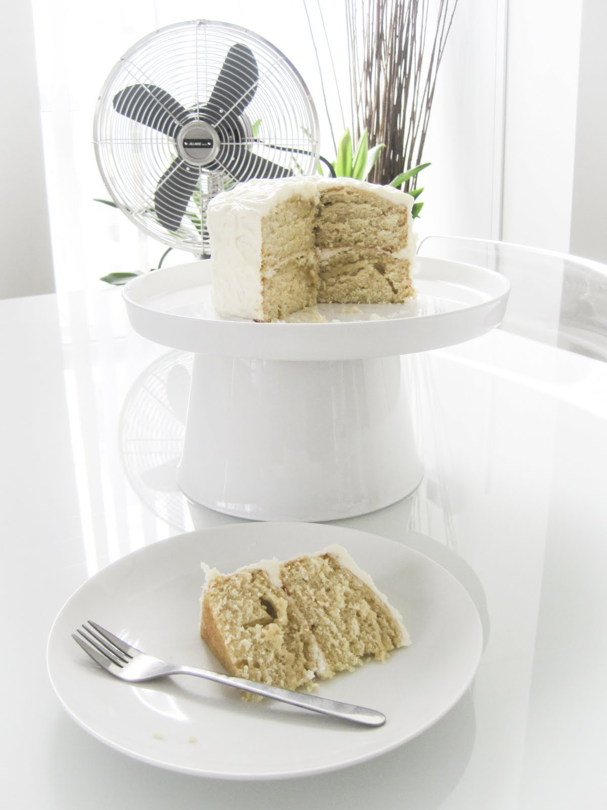 Corner Orchid Lemon Coriander Cake