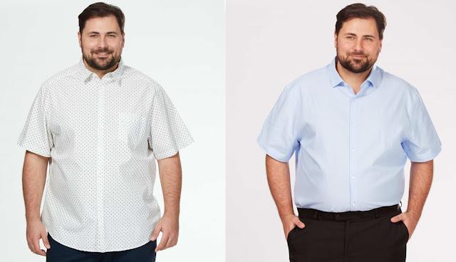 Camisas en Tallas Grandes