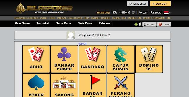 Hack Bandar Poker Online Dengan Menggunakan ID PRO PKV GAMES !