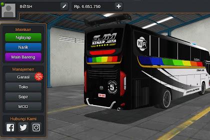 Livery Bussid Bus srikandy SJM