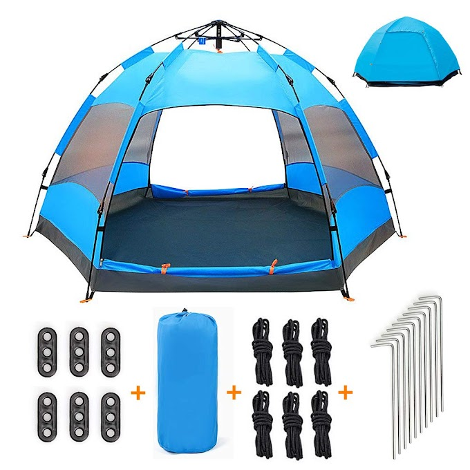 AMAZON - 50%off Automatic Pop Up Tent for Kids and Family Till July 31st