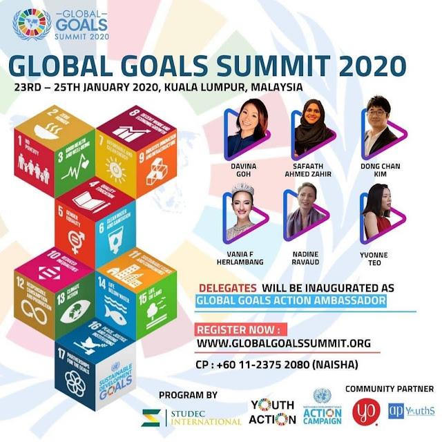 Mau Go Internasional Ikuti Global Goals Summit 2020