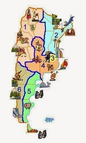 Parchi e Riserve Naturali Argentini insieme armonico della vita animale e vegetale, del suolo e del sottosuolo.