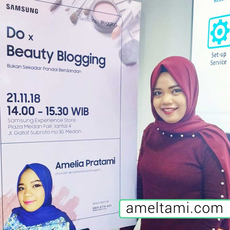 beauty blogger amelia pratami