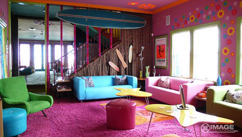 Neon Colors Interior Design Inspiration