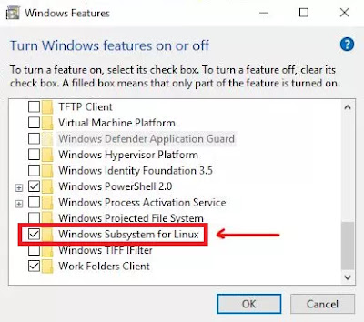How to Activate Windows Subsystem For Linux in Windows 10-2