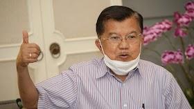 Jusuf Kalla Sebut HRS sebagai Pemimpin Karismatik