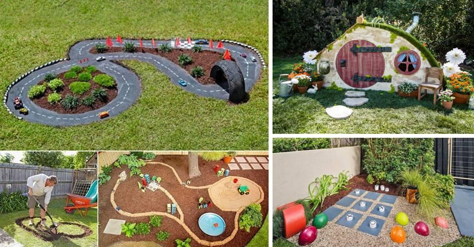 15 DIY Affordable Kid-Friendly Backyard Ideas That Will ...