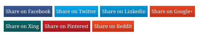 6 Best Social Sharing Button Plugins for Wordpress Blog in 2019