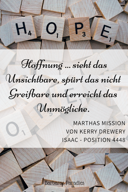 Buchrezension #201 Marthas Mission von Kerry Drewery
