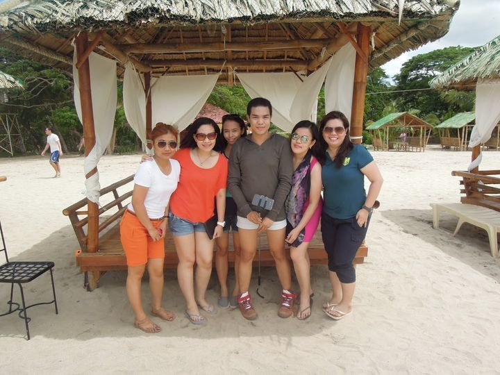 Cottage at the beach of Laiya Coco Grove Beach Resort