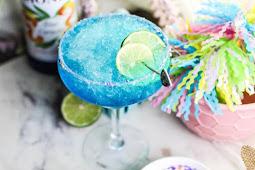 Virgin Blue Margarita #healthydrink #easyrecipe #cocktail #smoothie