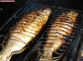 fischiscooking, forelle, gefüllt , grillen