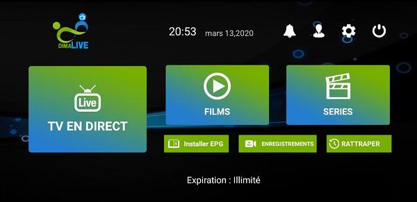 تحميل تطبيق Dima iptv لمشاهدة القنوات الفضائية على هاتفك مجانا