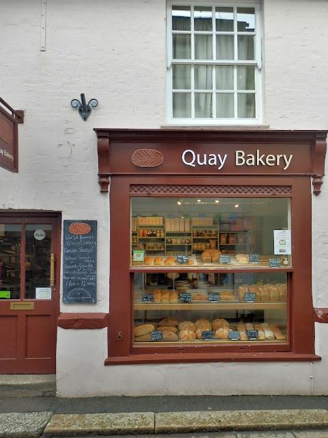 The Quay Bakery shop, Fowey, Cornwall