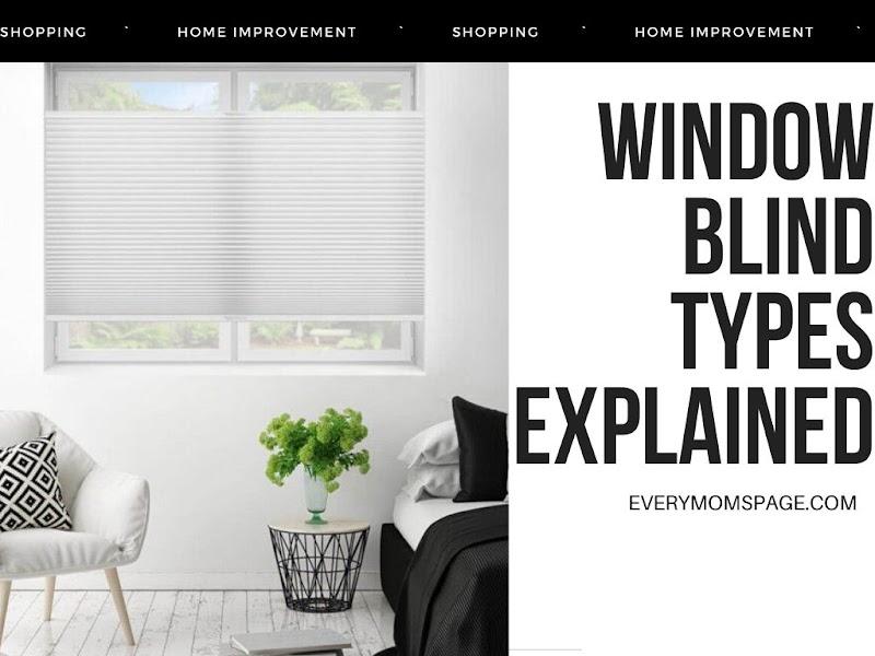 Window Blind Types Explained