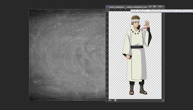 Cara Membuat Efek Gambar Tulisan Kapur Warna Dengan Photoshop