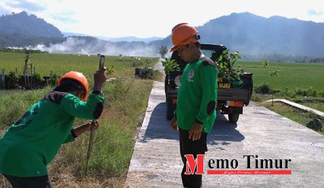 Dinas Lingkungan Hidup melakukan penanaman pohon di Kecamatan Tempursari