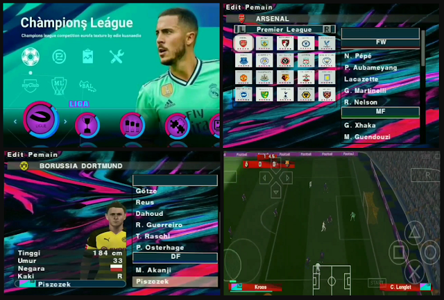 Download PES 2020 PPSSPP Chelito Special PS4