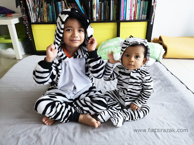Aneeq Ada Animal Costume Party