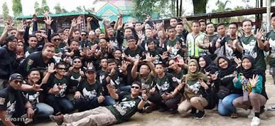 Meriah, Anniversary KOMBO Kapuas Hulu ke-3 dan Kopdargab KOMBO Kalbar Jilid VI