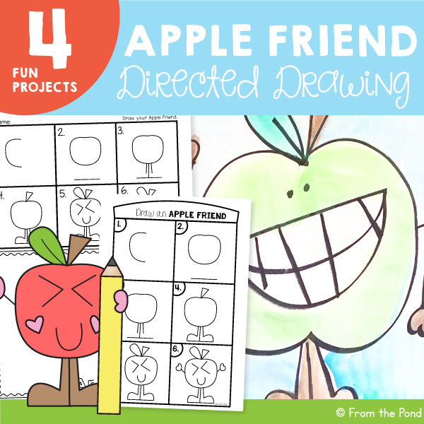Apple Art project For Kids